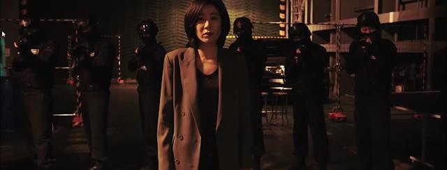 Cheon (Jeon Hye-Jin) et son unité dans Sans pitié de Byun Sung-Hyun