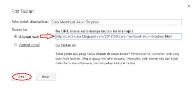 Selain sebagai sarana untuk mengirimkan dan mendapatkan pesan Cara Menyisipkan Tautan Di Email Gmail