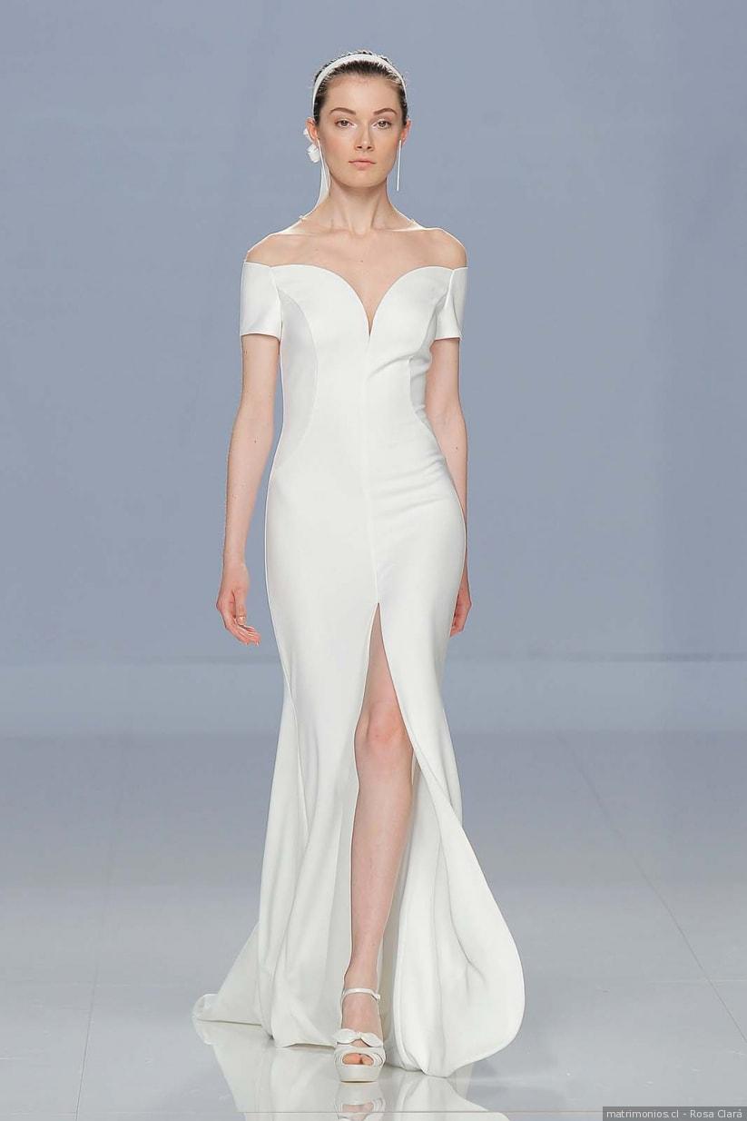 vestidos de noivas minimalistas 2018