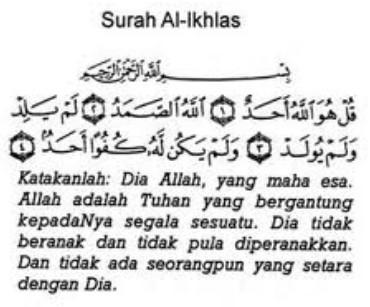 Surah 3 Qul Dalam Rumi Jawi Dan Terjemahnya Wirid Dan Doa