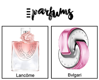 WishList 10 Produits Beauté parfums
