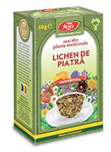 Imagine cu cutia unui tip de ceai lichen de piatra. Click pentru detalii si cumparare