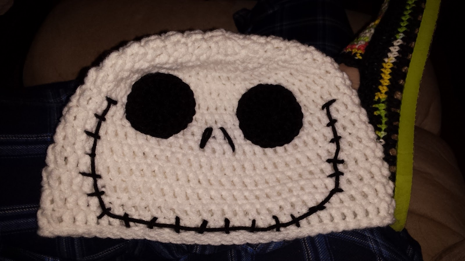 Mommy Made Crochet  Jack Skellington Hat 2116d252776
