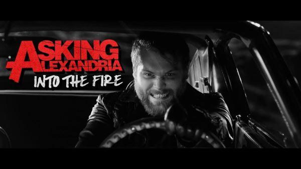 "ASKING ALEXANDRIA: Video για το νέο τους κομμάτι ""Into The Fire"""