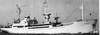 La nave Vasilij Golovnin.