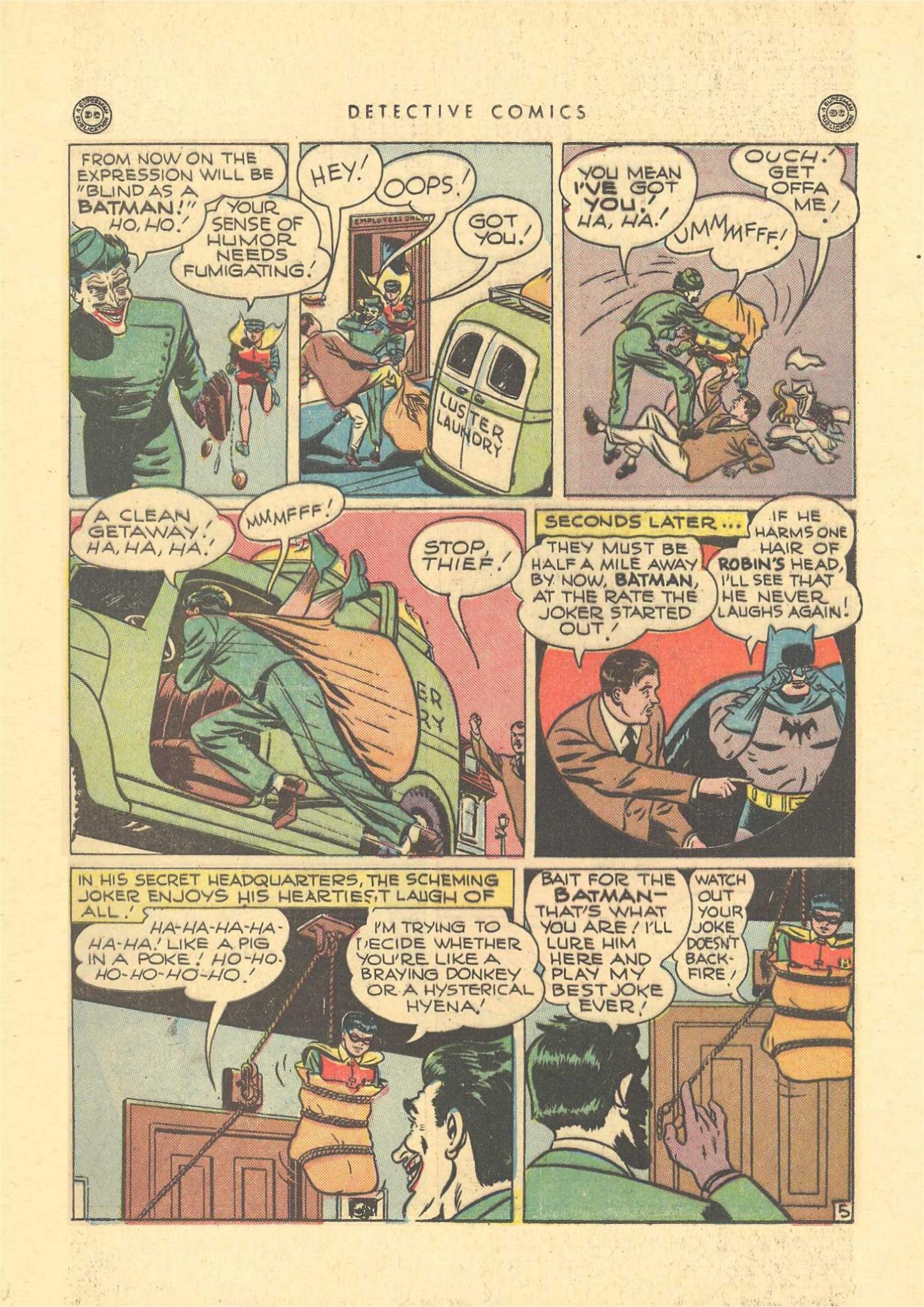 Read online Detective Comics (1937) comic -  Issue #109 - 7