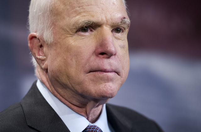 John McCain to Discontinue Treatment for Brain Cancer, Family Says