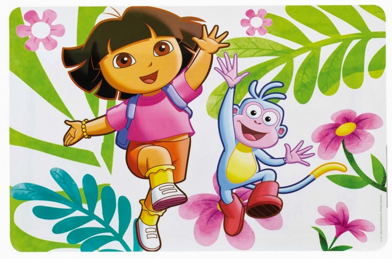 Wallpaper Atau DP BBM Dora The Explorer Khusus Android 2015