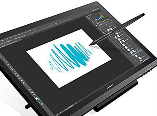 best graphic tablets with screen