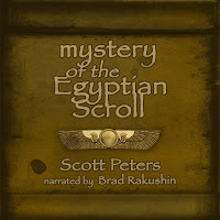 image: Mystery of the Egyptian Scroll audiobook