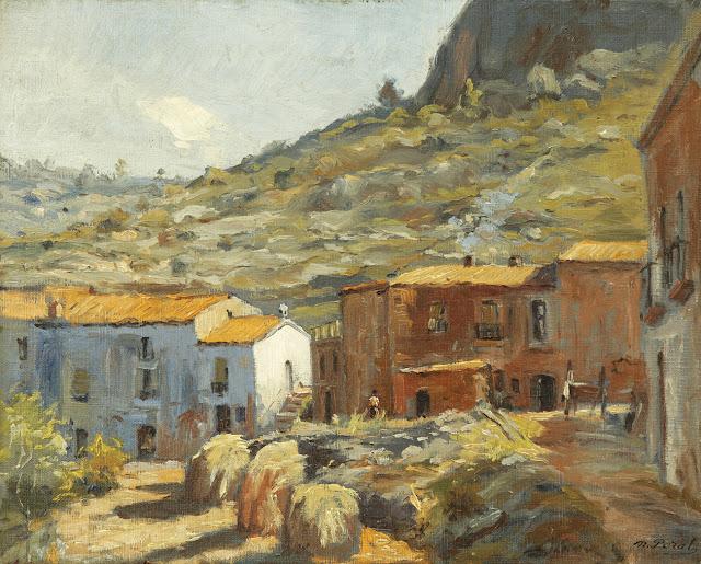 Narciso Peral Gil, Paisajistas españoles, Paisajes de Narciso Peral Gil, Pintor español, Pintores de Murcia, Pintores Murcianos