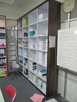 Rak File Terbuka Bahan Multiplek HPL