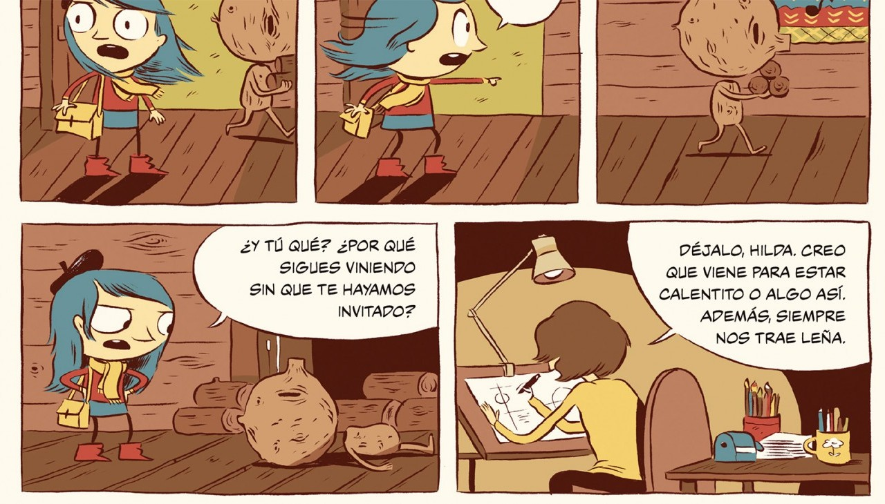 Hilda cómic