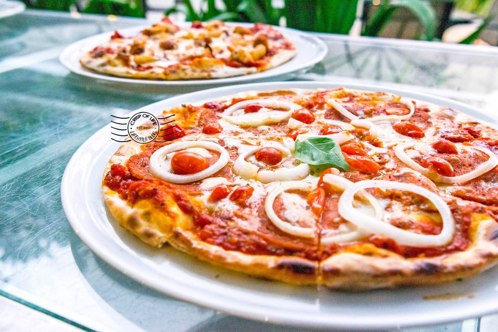 Hard Rock Hotel Penang Pizzeria Italian dishes restaurant