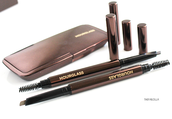 Hourglass Arch Brow Sculpting Pencil, review, swatch, tom ford brow sculptor