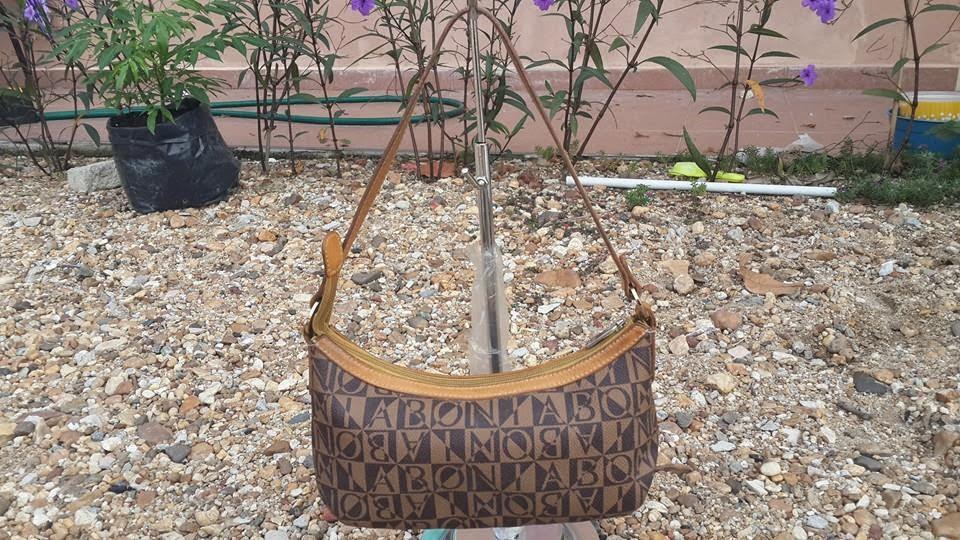 pArT tiMe bUnDLe  Authentic Bonia Monogram Shoulder Bag (SOLD) 4cb2a90492257