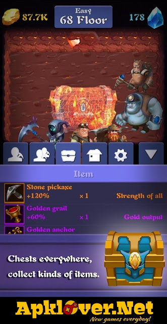 Mine Legend MOD APK unlimited money