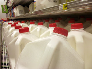 Macro Photograph - Milk in Grocery Store