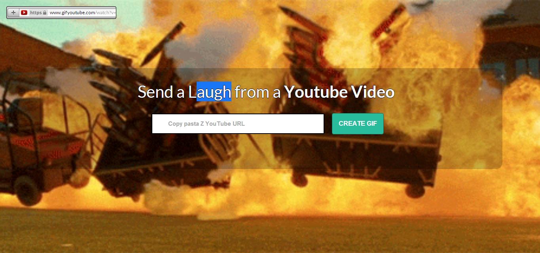 تحويل اى مقطع فيديو على اليوتيوب الى صورة متحركة بدون برامج