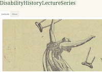 Disability History Lecture Series
