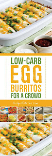 Low-Carb Egg Burritos for a Crowd found on KalynsKitchen.com