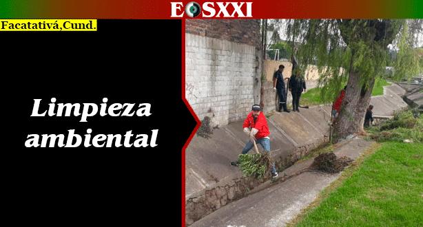 Con limpieza se mitigan de riesgos en canales de aguas del casco urbano
