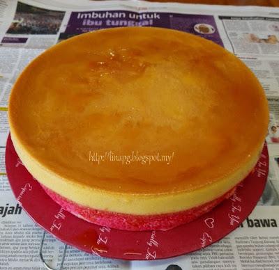Kek Karamel Pelangi LiNa Pg