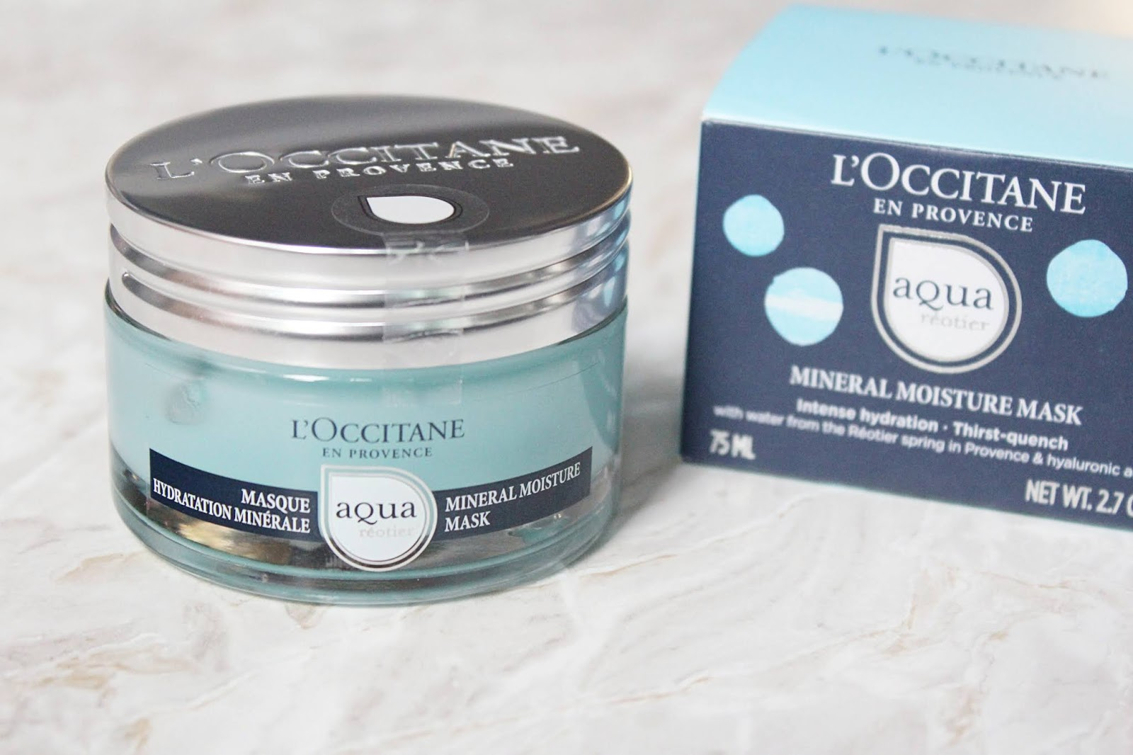 L'Occitane Réotier Mineral Moisture Mask Review