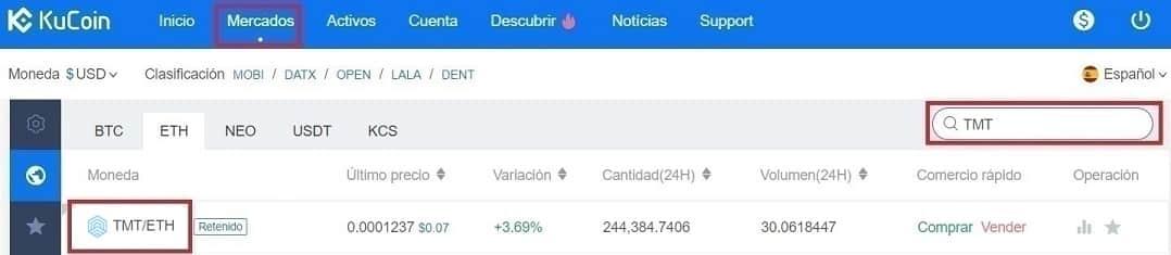 Comprar Criptomoneda TRAXIA (TMT) Guía Completa y Actualizada en Español