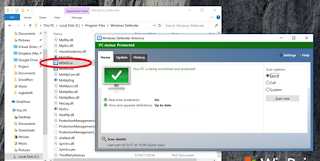 cara menjalankan windows defender