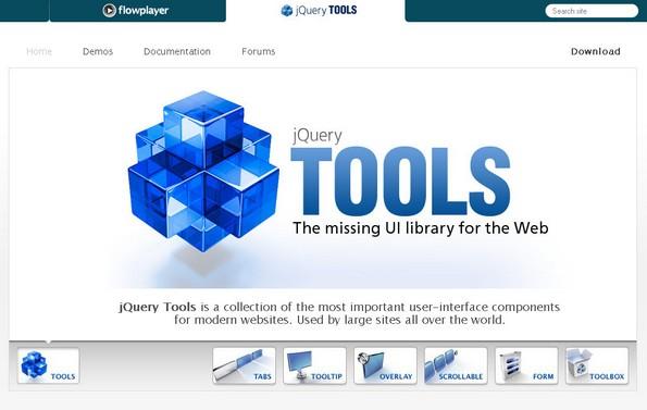 jQuery TOOLS JS library