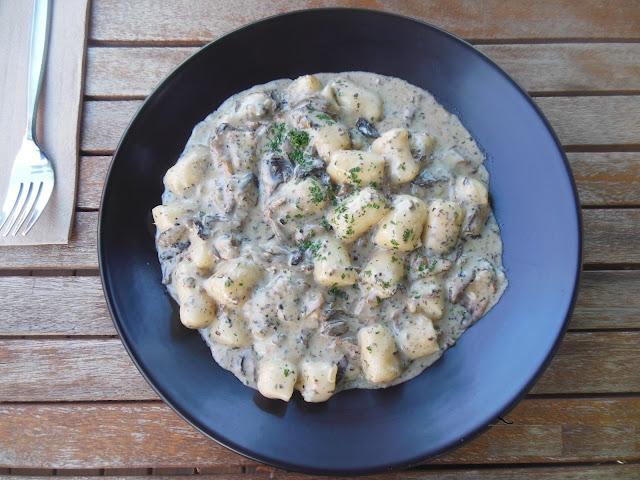 Carosello, Moonee Ponds, mushroom gnocchi
