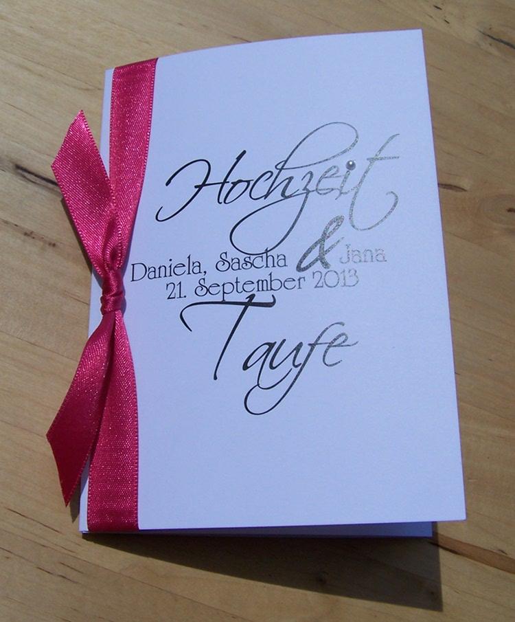 Hochzeitskarten Blog Einladung Hochzeit Und Taufe Traufe