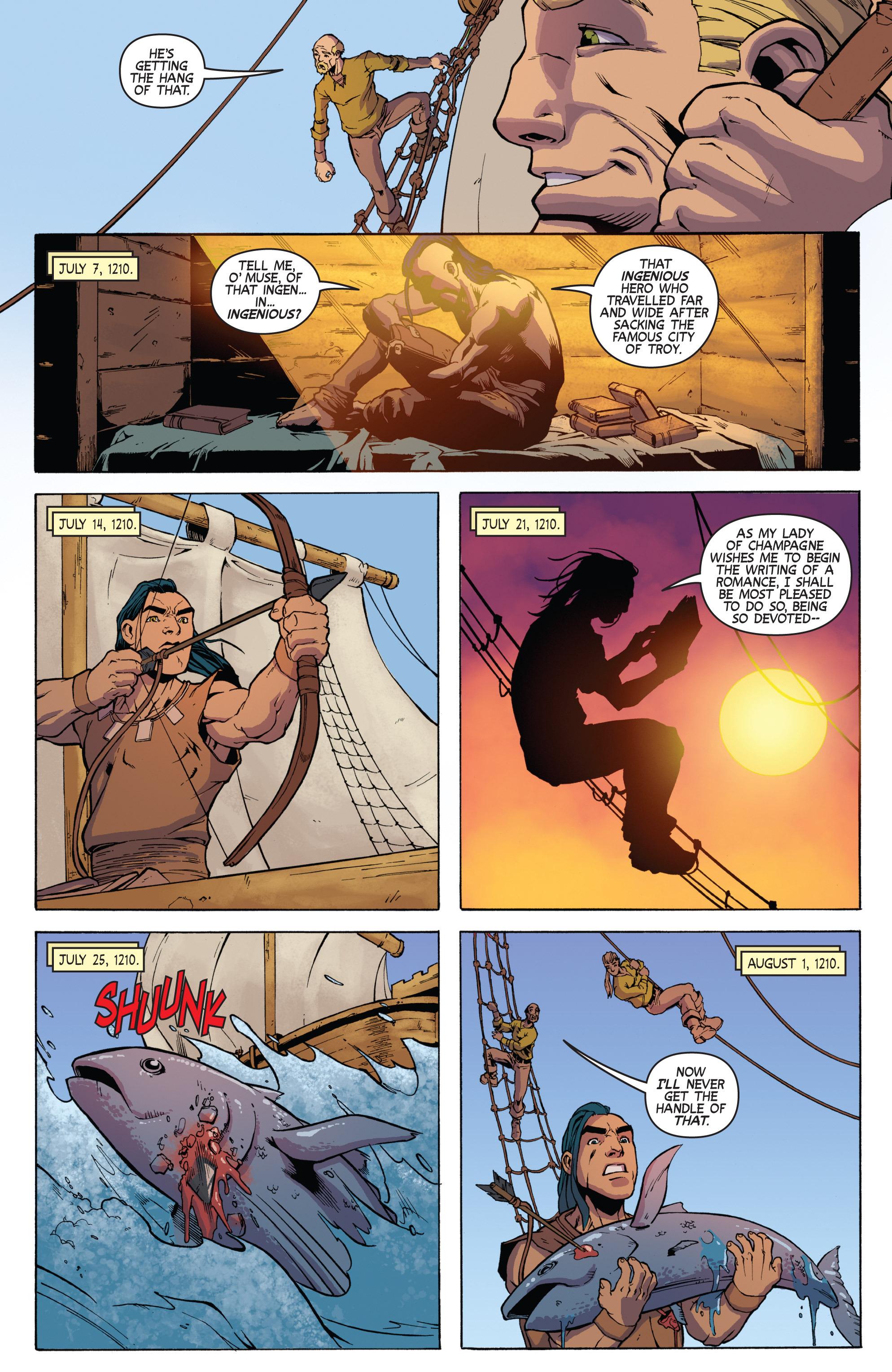 Read online Turok: Dinosaur Hunter (2014) comic -  Issue # _TPB 3 - 19