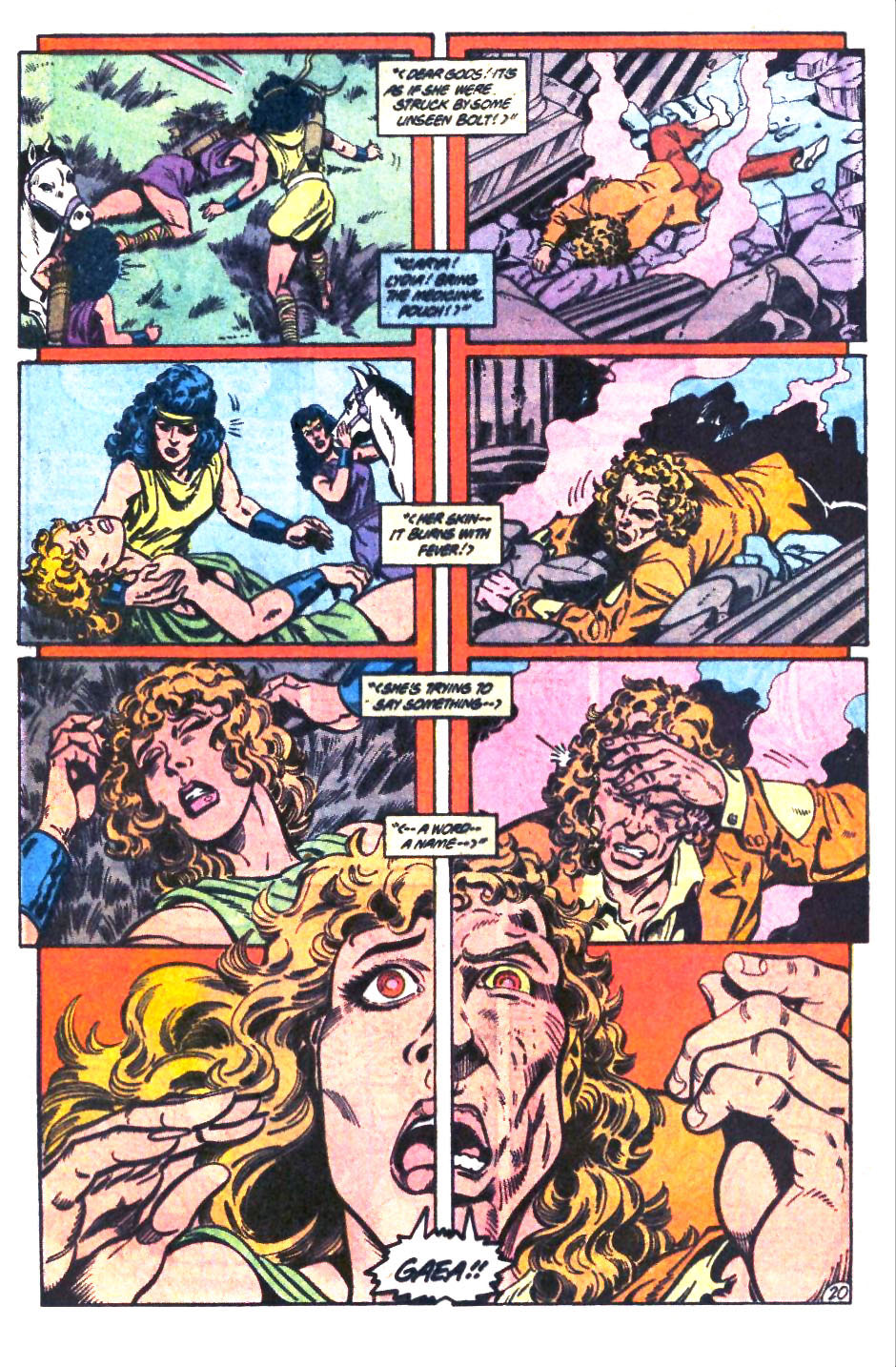 Read online Wonder Woman (1987) comic -  Issue #32 - 21