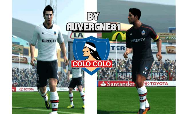 PES 2013 Colo Colo 2017 Home and Away Kits d5698f715