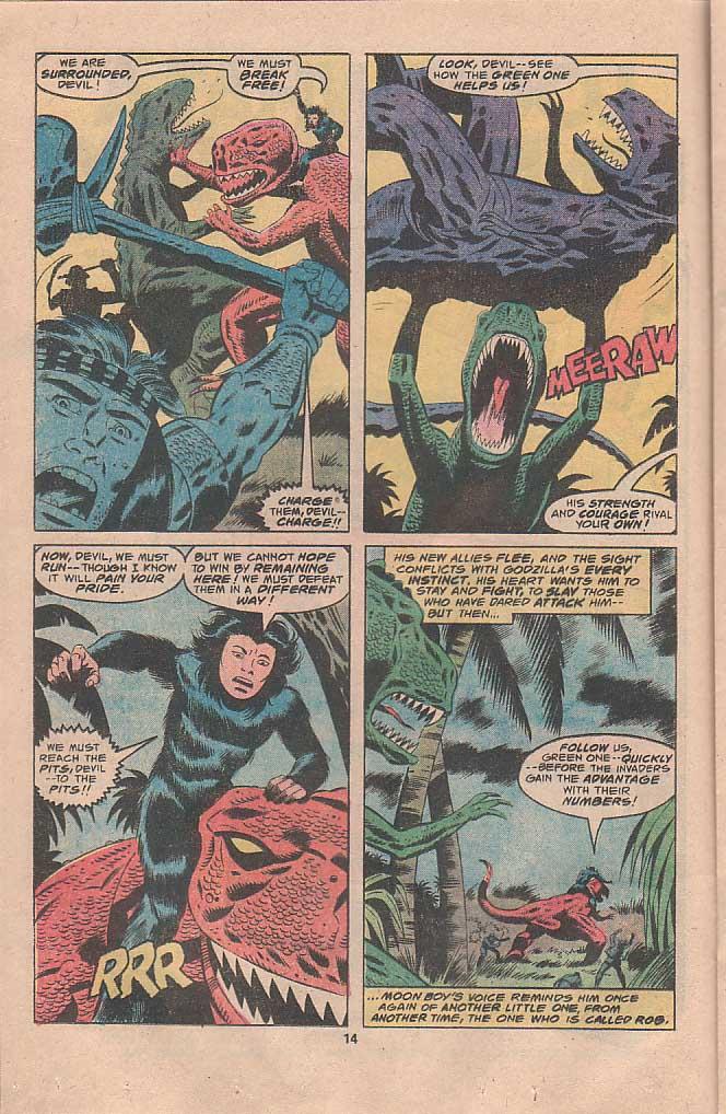 Godzilla (1977) Issue #22 #22 - English 8