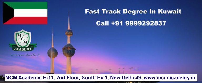 Fast Track One Sitting Online Distance Degree In Kuwait | Graduation