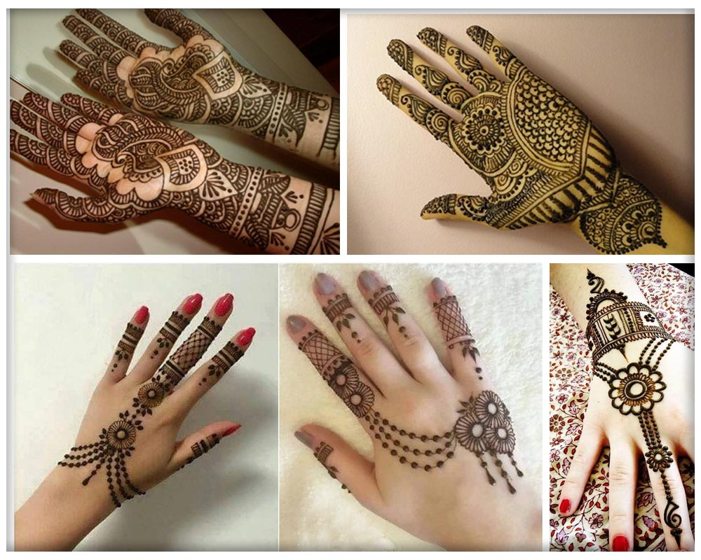 Jewellery Mehendi Designs