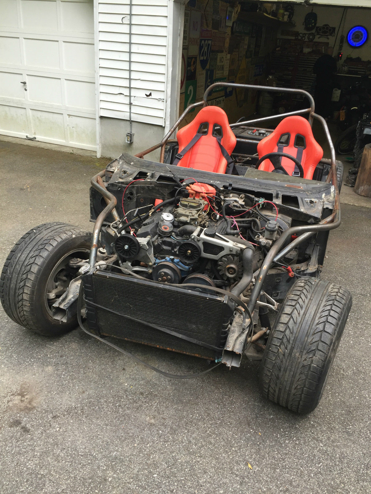 Daily Turismo Auction Watch 1984 Chevrolet Corvette C4 Chassis 1968 Project Car