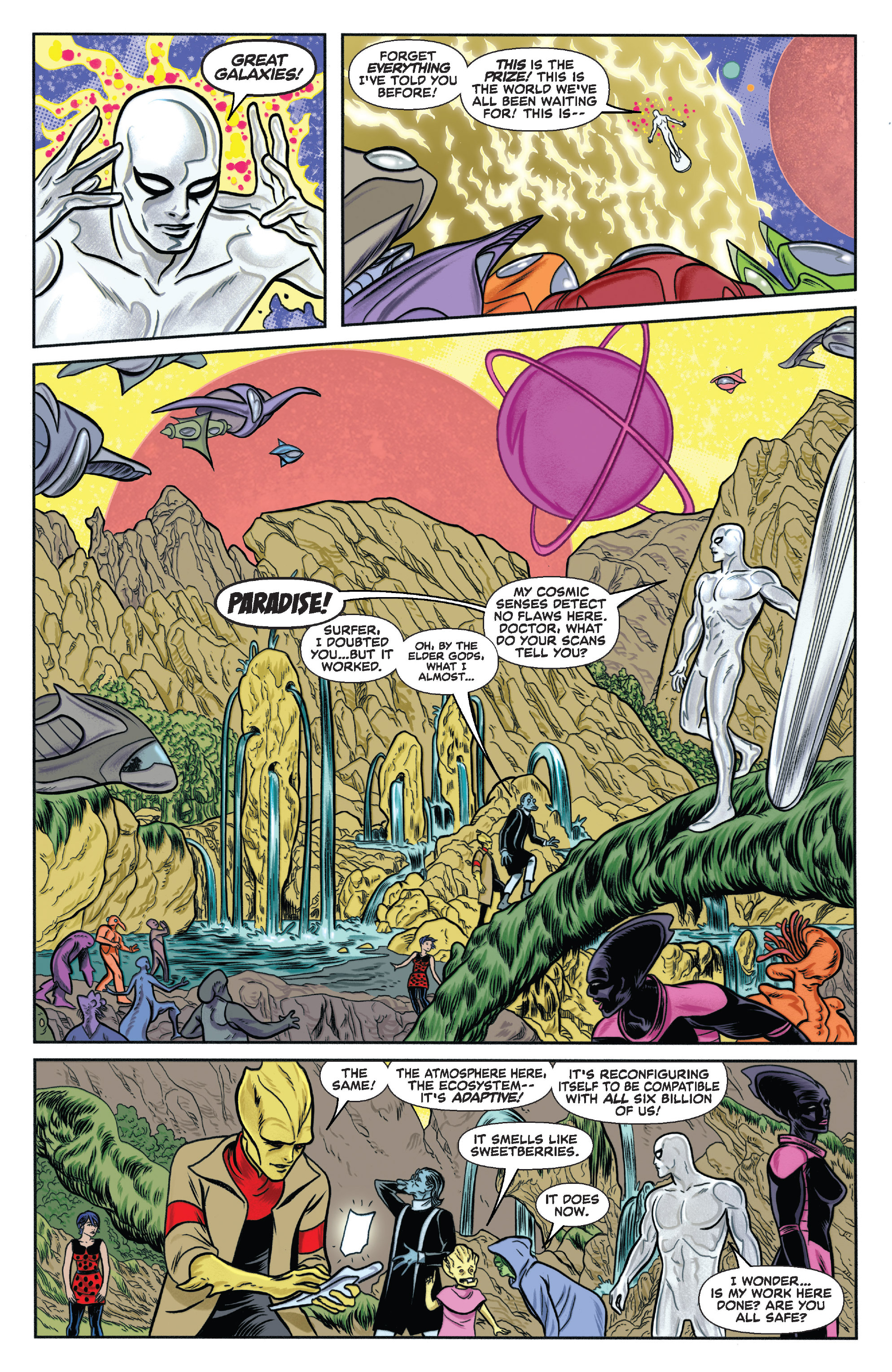 Read online Silver Surfer (2014) comic -  Issue #11 - 41