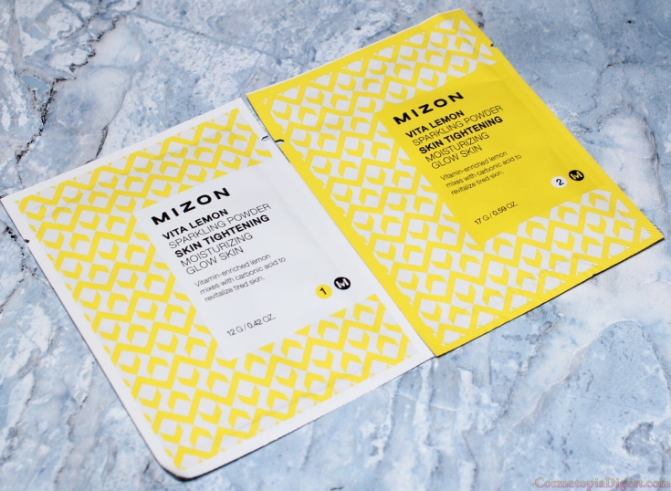 Mizon Vita Lemon Sparkling Powder Duo