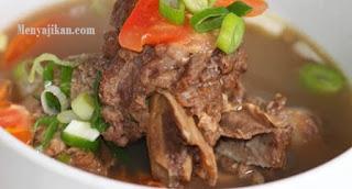 Resep Sup Brenebon Tulang Sapi dan Kacang Merah