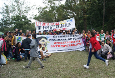 A pocos días del 7mo campamento de jóvenes antifascistas