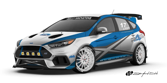 Ford Focus RS Rally Revivial - Sema Show 2017