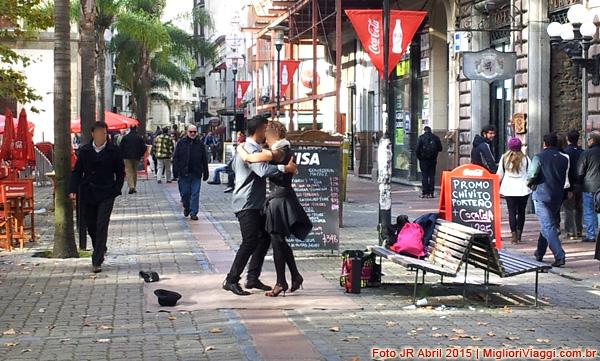 Tango na Praça da Matriz, Montevidéu