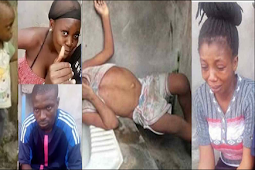 "His Dad Damaged My Womb"" – Nigerian Lady Who Murdered Her Neighbor's 2 Year-old Child To Punish His Dad Confesses"