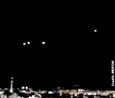 UFOs Caught On Video Over Las Vegas Strip 8-18-14