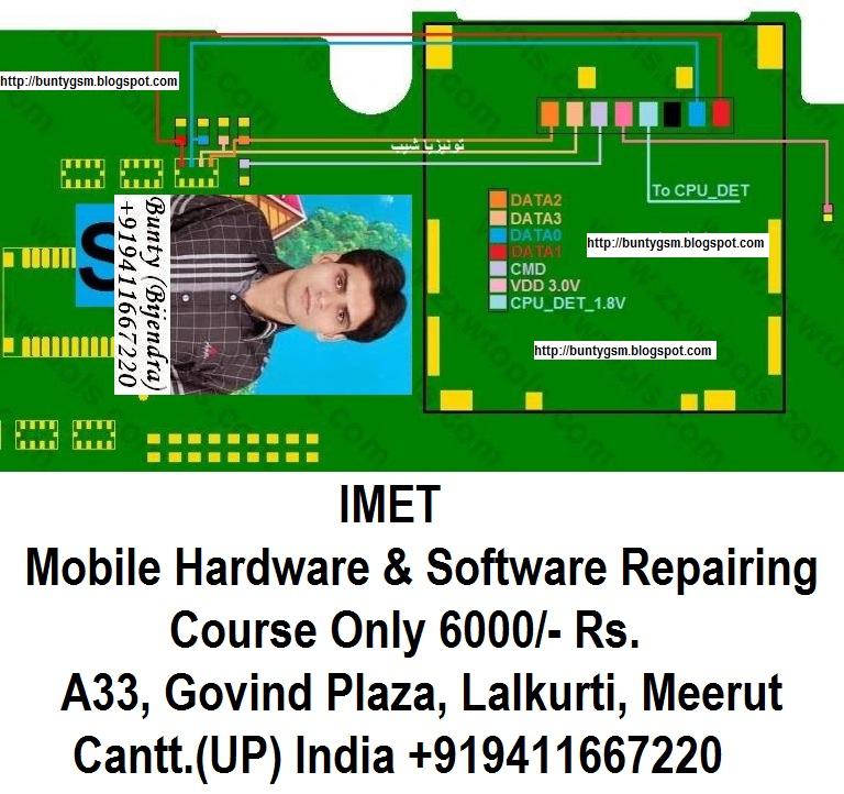 Samsung Galaxy Ace S5830I MMC Not Working Problem Solution Jumper Ways