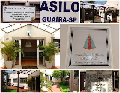 Asilo de Guaíra SP